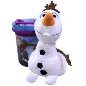 Chaveiro Olaf 23cm lata Frozen - Disney - R$56