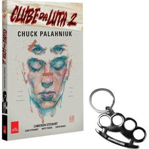 Livro | Clube da Luta HQ + Chaveiro Soco Inglês - Vol. 2 | R$ 8,99