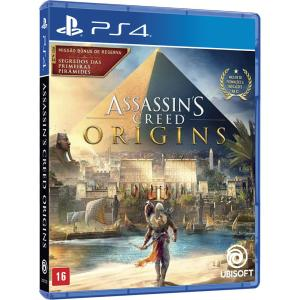 Game - Assassins Creed Origins Edição Limitada - PS4 - R$100