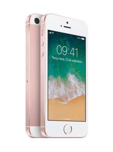 iPhone SE 128GB Ouro Rosa  IOS 4G Câmera 12MP - Apple - R$1529