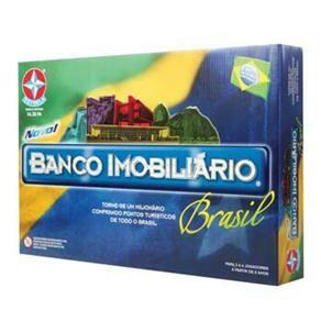 Banco Imobiliário Brasil Estrela R$ 65