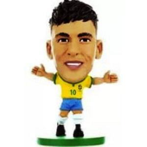 Mini Craque Neymar Jr. Miniatura Copa do Mundo por R$ 3