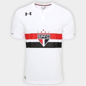 Camisa São Paulo I 17/18 s/nº Torcedor Under Armour Masculina por R$ 90