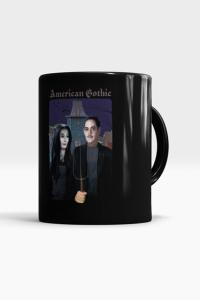 Caneca American Gothic - Família Adams - Chico Rei | R$20