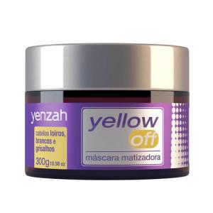 Máscara Matizadora Capilar Yenzah Yellow Off 300g R$24