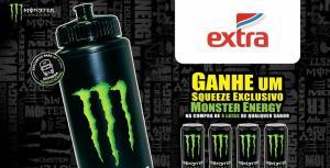 GANHE UM SQUEEZE NA COMPRA DE 4 LATAS MONSTER ENERGY (SP)