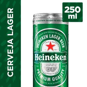 Cerveja HEINEKEN Lata 250ml 2,68