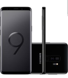 "Smartphone Samsung Galaxy S9+ Dual Chip Android 8.0 Tela 6.2"" Octa-Core 2.8GHz 128GB 4G Câmera 12MP Dual Cam - Preto | R$2.774"