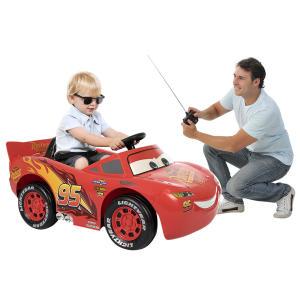 Carro Elétrico Relâmpago McQueen Infantil Bandeirante Vermelho 6V - RF$ 1099