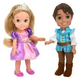2 Bonecas - Disney My First Princess - Rapunzel e Flynn Rider - New Toys - R$90