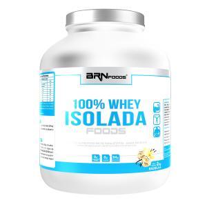 100% WHEY ISOLADA - BRN FOODS 4KG - R$200