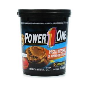 Pasta de amendoim (1,005 Kg) -Power one - Frete grátis para várias localidades