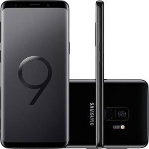 "Smartphone Samsung Galaxy S9 Dual Chip Android 8.0 Tela 5.8"" Octa-Core 2.8GHz 128GB 4G Câmera 12MP - Preto | R$2.378"