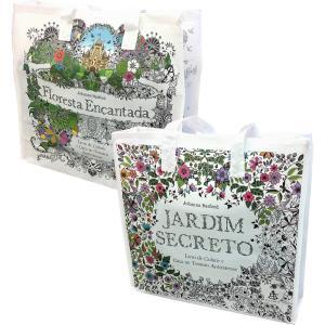 Sacola Jardim Secreto/Floresta Encantada - R$0,19