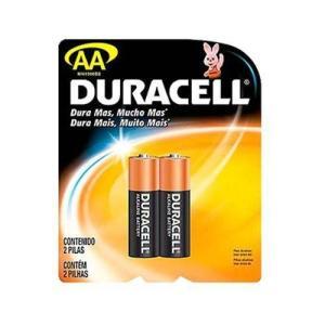 Pilha Duracell Aa Com 2 Unidades - R$2