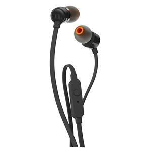 [PayPal] Fone de Ouvido JBL T110 In Ear Pure Bass Preto - R$ 36