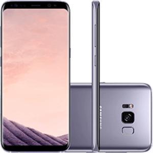 "Smartphone Samsung Galaxy S8 Dual Chip Android 7.0 Tela 5.8"" Octa-Core 2.3GHz 64GB 4G Câmera 12MP - Ametista  | R$ 2114,00"
