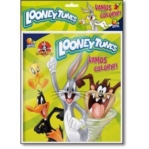 Livro - Looney Tunes - Coleção Vamos Colorir! - Kit Livro + Lápis De Cor 1,90