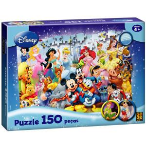 Quebra-Cabeça Disney -  Puzzle c/ 150 Peças | R$26
