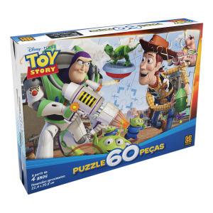Quebra-Cabeça Toy Story - 60 Peças - Pixar | R$11