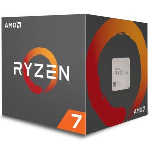 Processador AMD Ryzen 7 2700 c/ Wraith Spire Cooler, Octa Core, Cache 20MB, 3.2GHz (Max Turbo 4.1GHz) AM4 - YD2700BBAFBOX - R$1309