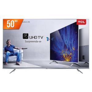 Smart TV LED 50'' 4K da TCL (Semp Toshiba) P6US 3 Hdmi 2 USB Wi-Fi Integrado Conversor Digital - R$2015