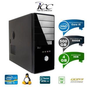 Computador Desktop ICC IV2541S Intel Core I5 3,20GHZ 4gb HD 500gb HDMI - R$944