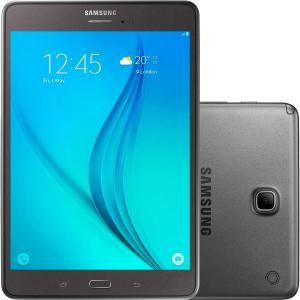 "Tablet Samsung Galaxy Tab A com S Pen P355M 16GB Wi-Fi 4G Tela 8"" Android 5.0 Quad-Core - Cinza - R$999"