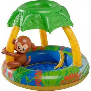 Banheira Infantil Macaco 65L Mor - R$50