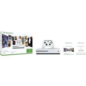 CONSOLE MICROSOFT XBOX ONE S 1TB 3 MESES DE LIVE GOLD + 3 MESES DE GAMEPASS por R$ 1250