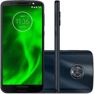 """[Cartão Shoptime] Smartphone Motorola Moto G6 32GB Dual Chip Android Oreo - 8.0 Tela 5.7"""" Octa-Core 1.8 GHz 4G Câmera 12 + 5MP (Dual Traseira) - R$823"""
