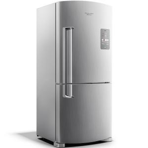 Geladeira Brastemp Frost Free Inverse 573 litros cor Inox - BRE80AK - R$ 2718