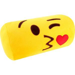 Almofada Emoji Piscabeijo Rolinho - Dartel Toys R$29