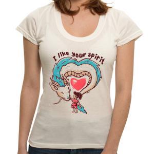 Camiseta I Like Your Spirit - Feminina | R$40