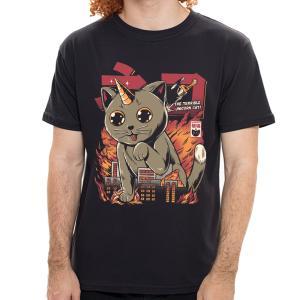 Camiseta Gato Unicórnio - Masculina | R$40