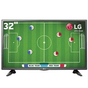 "TV LED 32"" HD LG 32LH510B com Conversor Digital Integrado, Painel IPS, Game TV, Entrada HDMI e USB R$ 989"