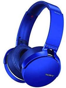 Fone De Ouvido Bluetooth Azul Mdr-Xb650bt Sony R$ 129,99