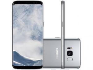 "Smartphone Samsung Galaxy S8 Tela 5.8"" 64GB 4G Câmera 12MP - R$ 2045"