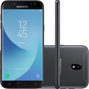 "Smartphone Samsung Galaxy J5 Pro Dual Chip Android 7.0 Tela 5,2"" Octa-Core 1.6 GHz 32GB 4G Câmera 13MP - Preto - R$699"