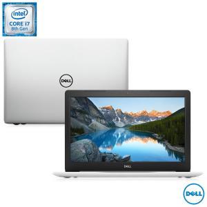 "Notebook Dell, Intel®Core™i7,16GB Intel Optane + 4GB RAM, 1TB, Tela de 15,6"", AMD Radeon™530 4GB, Inspiron 15 Série 5000 - R$3550"