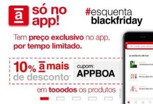 AMERICANAS: 10% OFF em todos os produtos pelo app