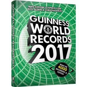 Livro - Guinness World Records 2017 - R$5