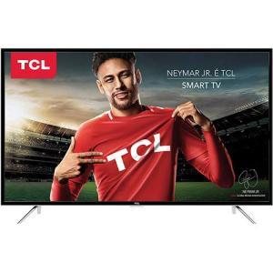 Smart TV LED 49 Semp Toshiba TCL 49S4900 Full HD com Conversor Digital 3 HDMI 2 USB Wi-Fi por R$ 1615