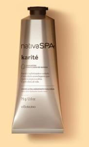 Ganhe um creme de mãos da nova linha Nativa SPA Karité