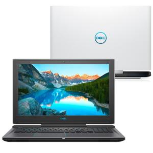 "Notebook Dell Gaming G7 7588-A10B Intel Core 8º i5 8GB GTX 1050TI 4GB 1TB Tela IPS 15,6"" - Branco   R$4.400 - (660 CASHBACK)"