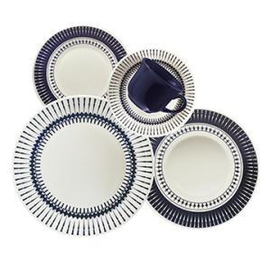 Aparelho de Jantar Chá 20 peças em Cerâmica Actual Colb - Biona - R$157