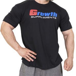 Camiseta de Academia (Preta) - Growth Supplements