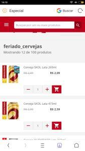 Promoção cervejas extra delivery + 100 itens