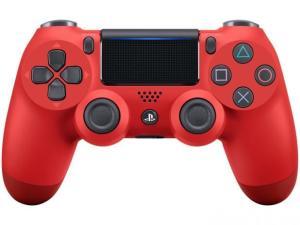 Controle para PS4 Sem Fio CUH-ZCT2U Sony - Vermelho e Preto R$ 197,91