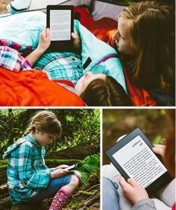 VOLTOU - Kindle Paperwhite por 349,10 na C&A